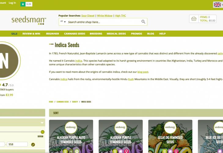 Seedsman.com review