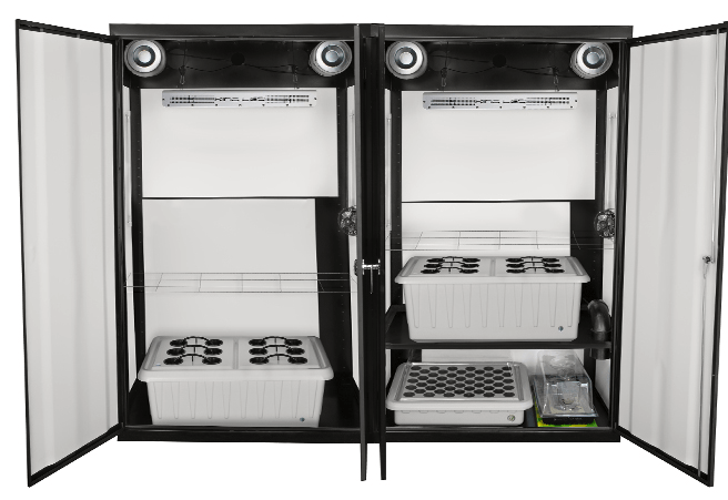 SuperTrinity grow cabinet