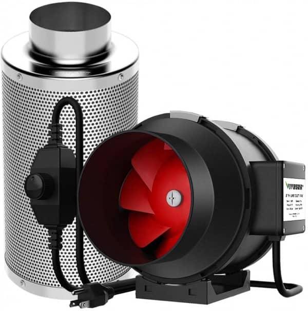 Vivosun 390 CFM Inline Duct Fan review