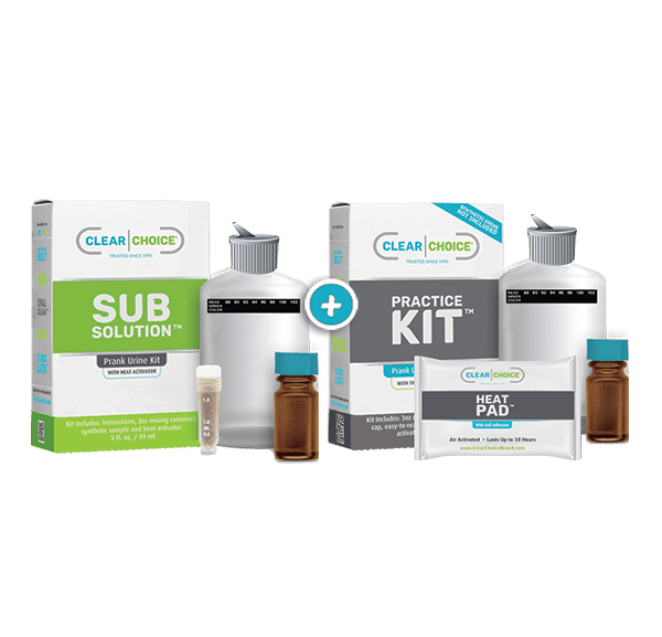 Clear Choice complete synthetic urine kit