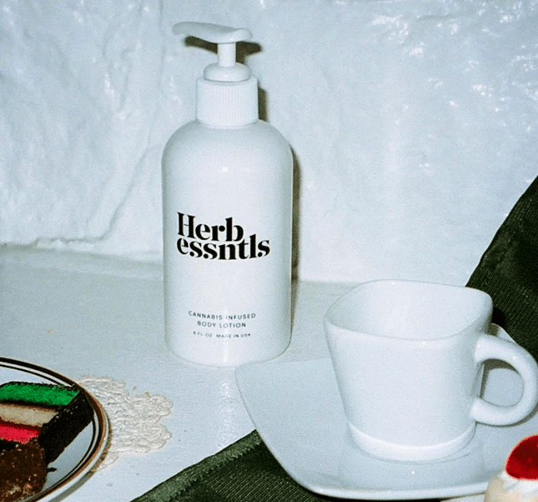 Herb Essntls cannabis body lotion