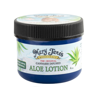 Mary Janes Cannabis-infused aloe lotion
