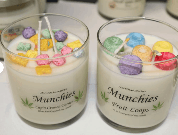 Munchies candle boho creations