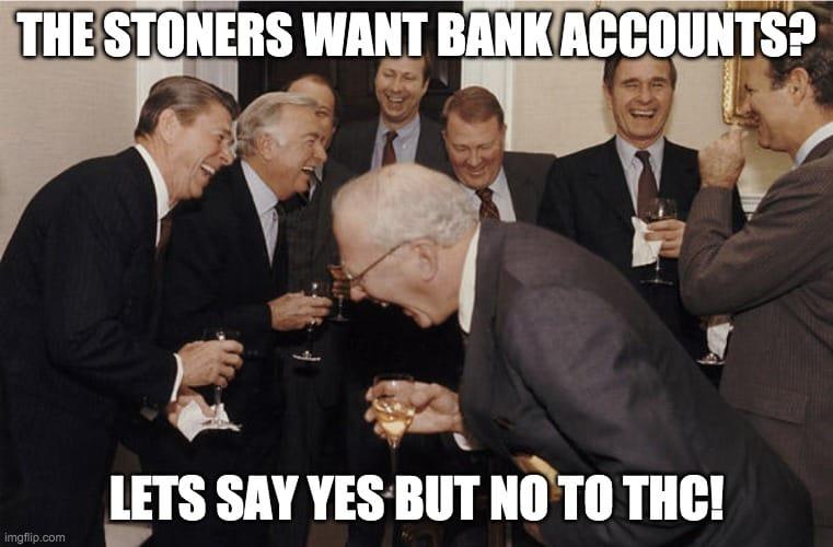 safe banking act meme