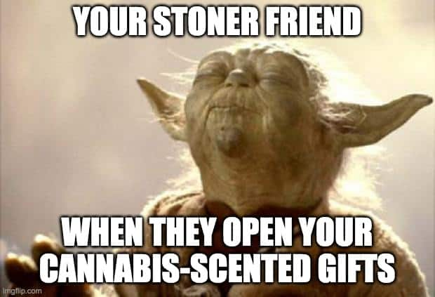 weed scented gifts meme